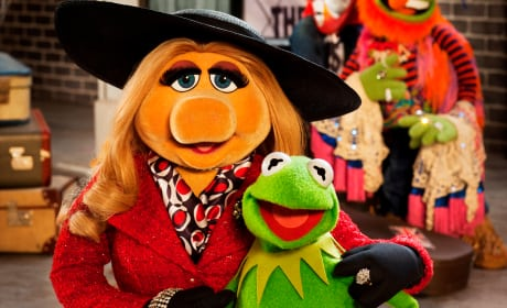 Muppets Most Wanted Kermit Miss Piggy