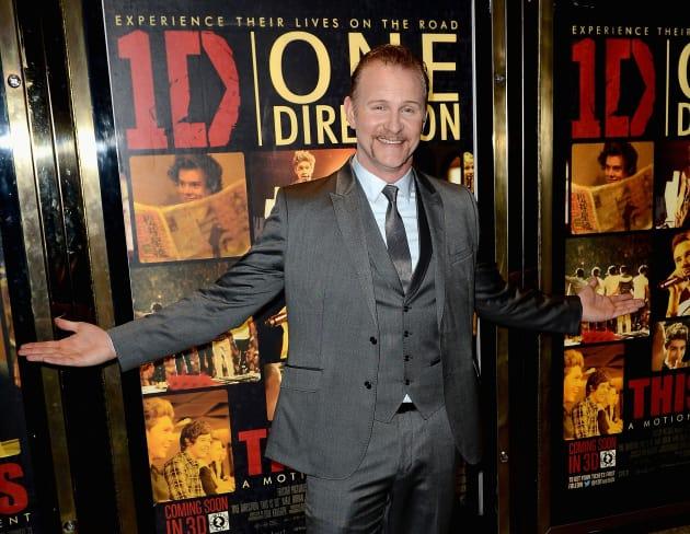 Morgan Spurlock One Direction Premiere