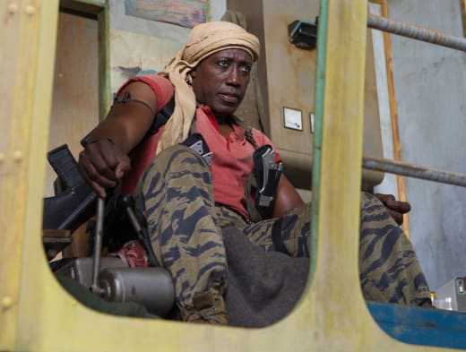 Wesley Snipes The Expendables 3