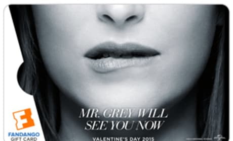 Fifty Shades of Grey Fandango Dakota Johnson Gift Card