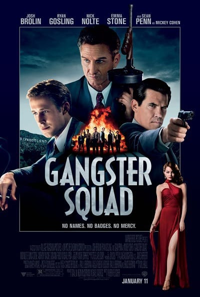 Gangster Squad Prize Poster