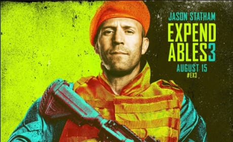 The Expendables 3 Jason Statham Comic Con Poster