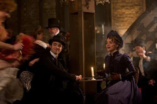 Robert Pattinson and Christina Ricci in Bel Ami