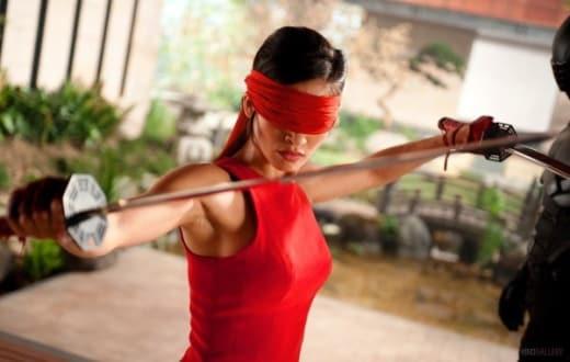 Elodie Yung in G.I. Joe Retaliation