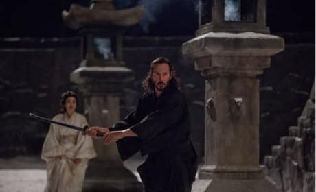 47 Ronin Stars Keanu Reeves as Samurai