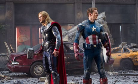 The Avengers: Chris Hemsworth & Chris Evans on Superhero Silliness