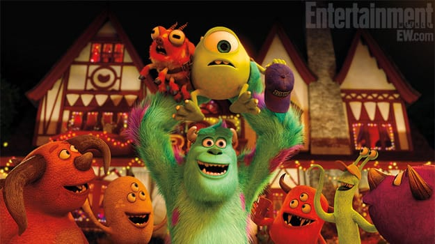 Mike and Sulley Monsters University