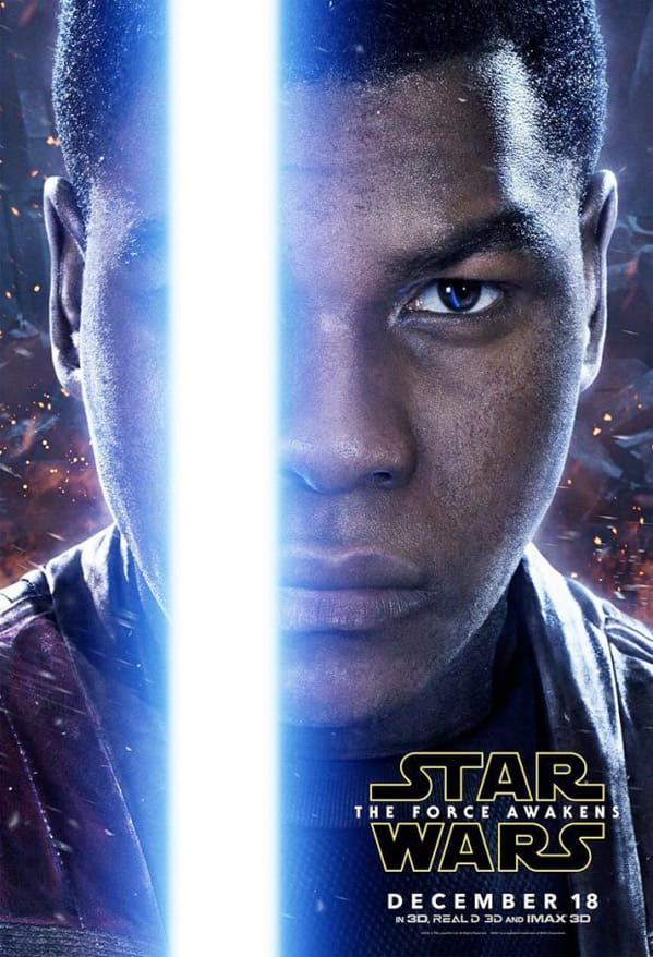 John Boyega Stars as Finn