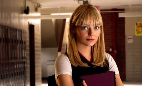 Emma Stone Stars as Gwen Stacy in The Amazing Spider-Man
