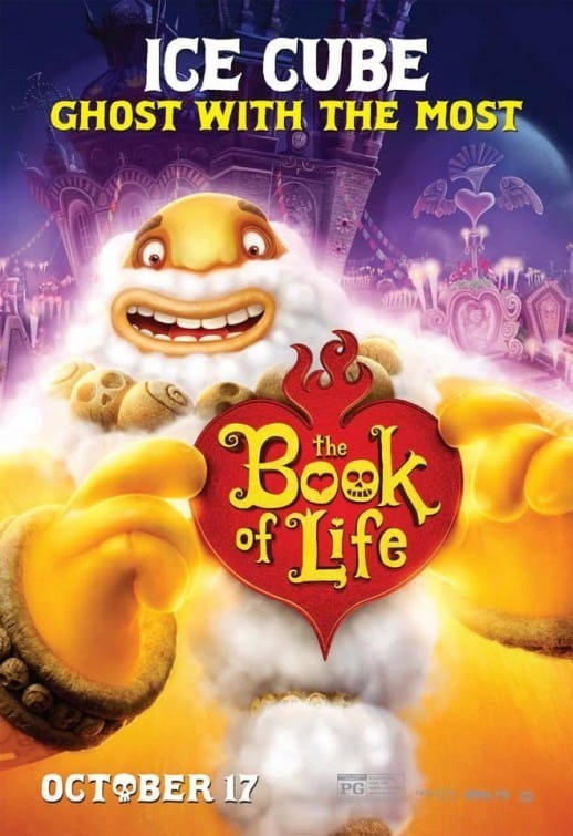 The Book of Life Ice Cube Character Poster