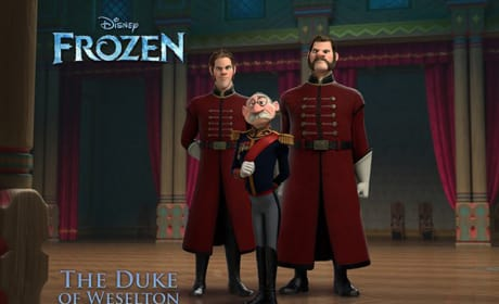 Frozen The Duke of Weselton