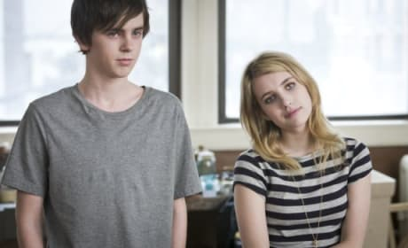 The Art of Getting By Stars Freddie Highmore and Emma Roberts