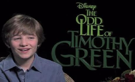 The Odd Life of Timothy Green: CJ Adams Gets Messy For Art