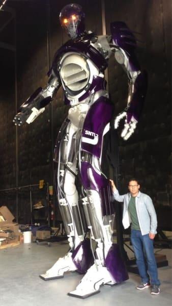 Bryan Singer X-Men Days of Future Past Sentinel