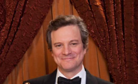 Oscar Press Room: Colin Firth Talks Royal Wedding, Cooking