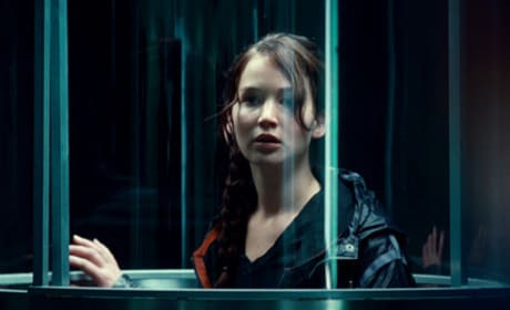 Hunger Games: Jennifer Lawrence as Katniss