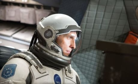 Matthew McConaughey Interstellar Still Photo