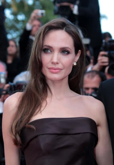 Angelina Jolie at Cannes Film Festival