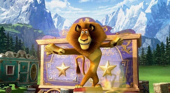 Ben Stiller is Alex and Madagascar 3: Europe's Most Wanted
