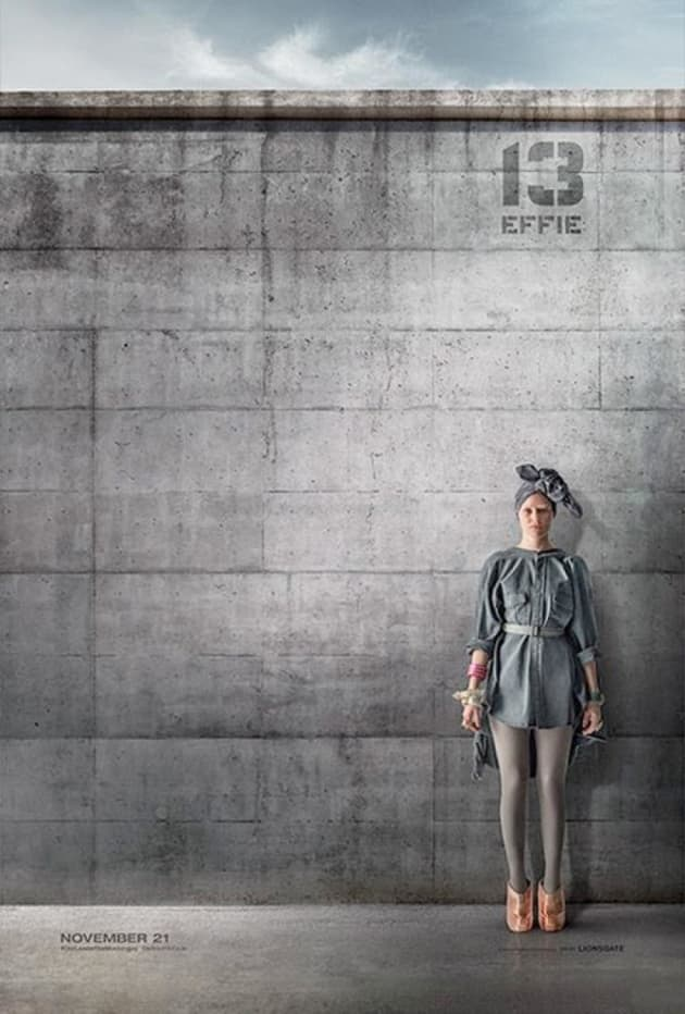 Mockingjay Part 1 Elizabeth Banks Poster