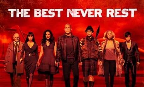 Red 2 Poster: The Best Never Rest