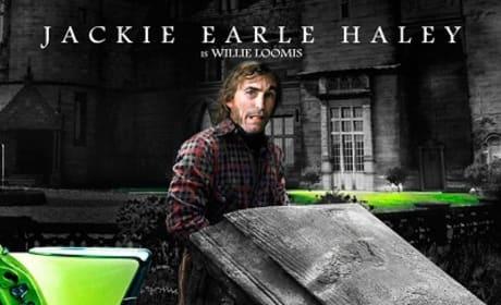 Dark Shadows Jackie Earle Haley Character Poster