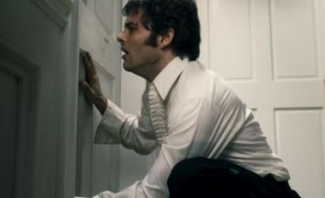 James Marsden hides from the horrors of The Box