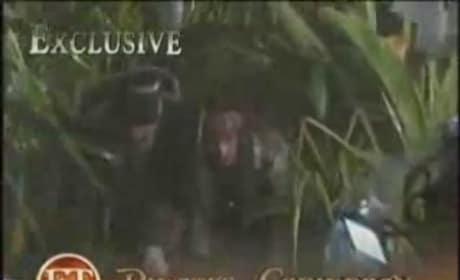 ET Visits the Set of Pirates 4!