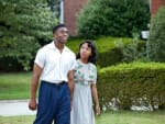 Chadwick Boseman Nicole Beharie 42
