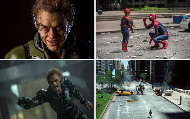 Dane dehaan is the green goblin
