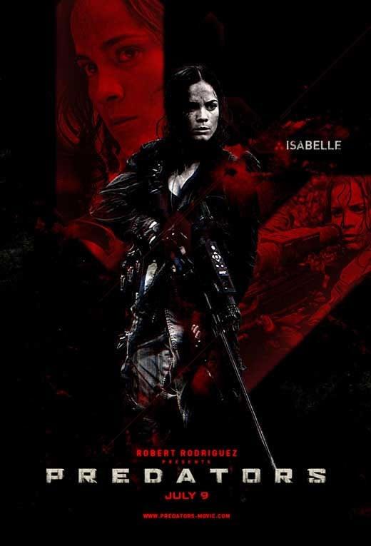 Predators Character Poster: Isabelle