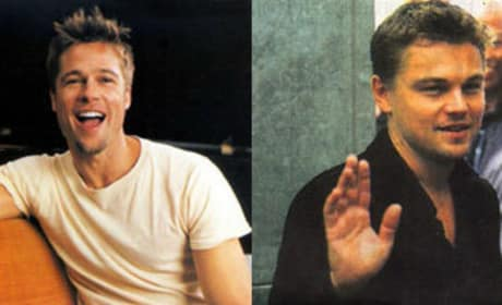 Brad Pitt and Leonardo DiCaprio: Inglorious Basterds?