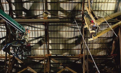 The Amazing Spider-Man Behind The Scenes Photo: Rafters