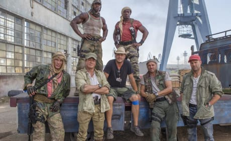 The Expendables 3 Cast Pic