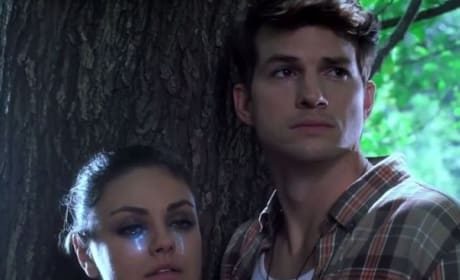 MoonQuake Lake Ashton Kutcher Mila Kunis