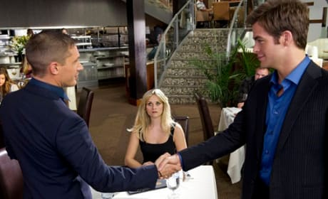 Latest This Means War Pics: Super Spy Love Triangle
