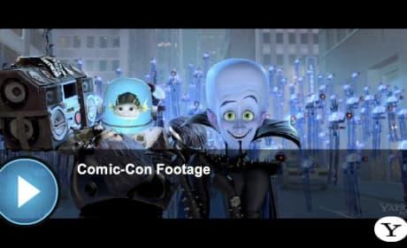 Megamind Comic-Con Footage