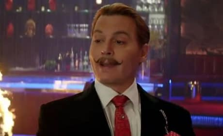 Johnny Depp Stars In Mortdecai