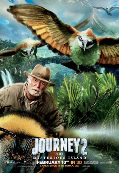 Michael Caine in Journey 2: The Mysterious Island