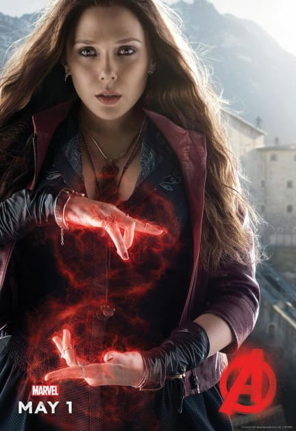 Scarlet Witch Gets Her Own Poster!