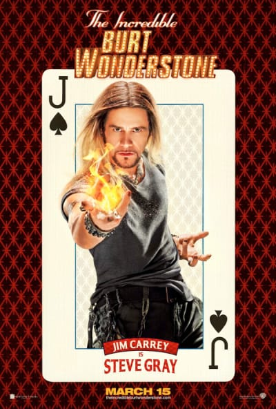 Jim Carrey The Incredible Burt Wonderstone Poster
