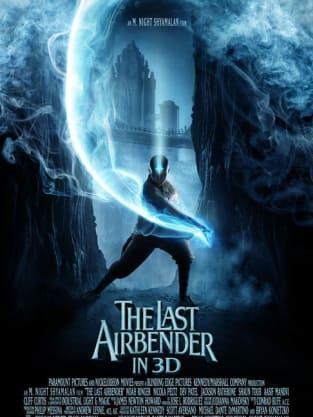 The Last Airbender Aang Poster