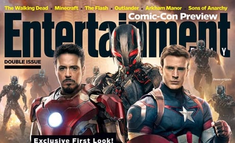 Avengers Age of Ultron Covers EW: First Look at Ultron