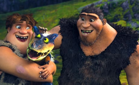 The Croods Nicolas Cage Clark Duke