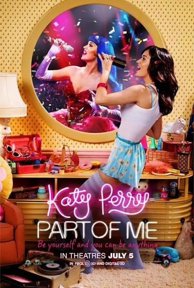 Katy Pery Part of Me Poster