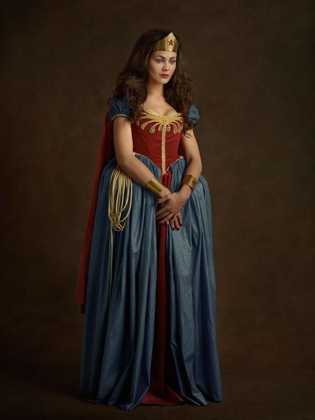 Wonder Woman As Renaissance Subject