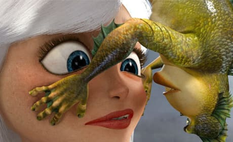Monsters vs. Aliens Scene