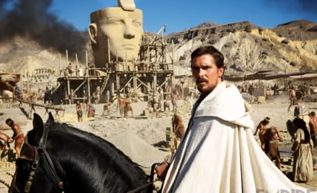 "Exodus Gods and Kings: Ridley Scott Dishes His ""Biggest"" Movie"
