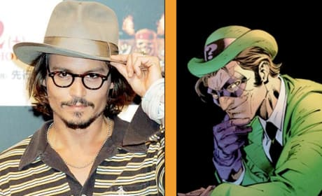 Johnny Depp Escaltes The Riddler Rumor
