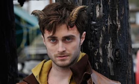 Horns Photo: Daniel Radcliffe Grows a Pair